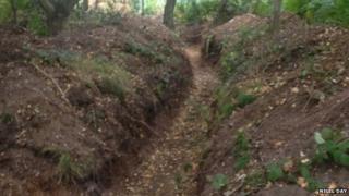Practice trench at Bircham Newton