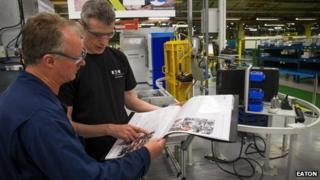 Eaton's Havant hydraulics manufacturing plant