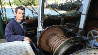 Mark Powell on the Golden Fleece II boat