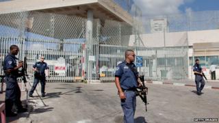 Hasharon prison, Israel (archive)