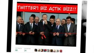 PM Erdogan cutting a red ribbon