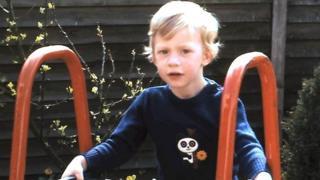 Richard Chapman, aged three