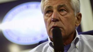 US Defence Secretary Chuck Hagel is on a three-day visit to China