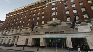 Cumberland Hotel in Marble Arch.