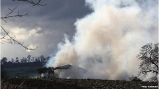 Forteviot fire