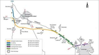 Highways Agency A14 plan 2014