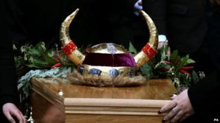 Clarissa Dickson Wright funeral