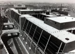 Construction of Northampton Greyfriars Bus Station