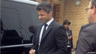 Shrien Dewani at Western Cape High Court