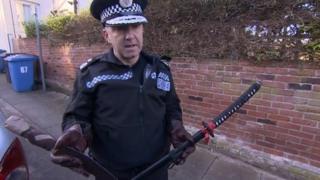Suffolk Chief Constable Douglas Paxton