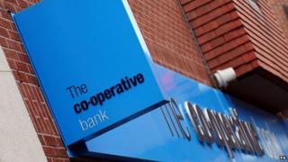 Co-operative Bank sign, Derby