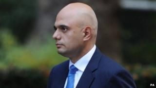 New culture secretary Sajid Javid