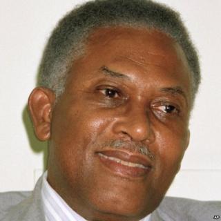 June 1991 file photo showing Trinidad and Tobago former leader Arthur Robinson