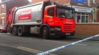 Refuse lorry