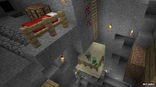 Screenshot from Minecraft