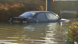 Flooding in Basingstoke