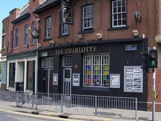 The Charlotte when it was a music venue