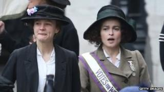 Stars Carey Mulligan and Helena Bonham Carter