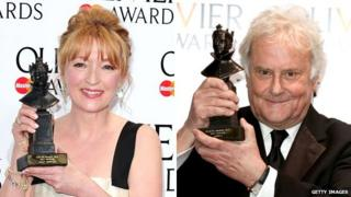 Lesley Manville and Sir Richard Eyre