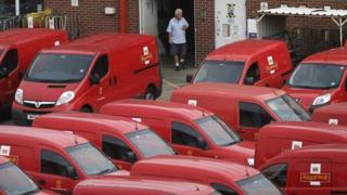 Royal Mail sorting office Altrincham