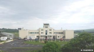 Shoreham Airport terminal building
