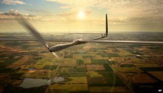 Titan Aerospace drone