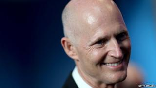 A photo of Florida Governor Rick Scott