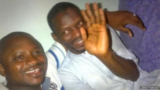 An image tweeted on Saturday 12 April showing Yusuf Siyaka Onimisi