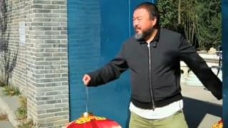 Ai Weiwei in Random Acts short film for Channel 4