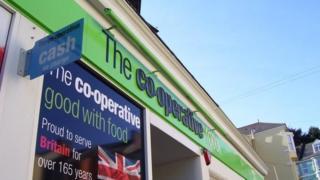 A Co-operative Group supermarket logo