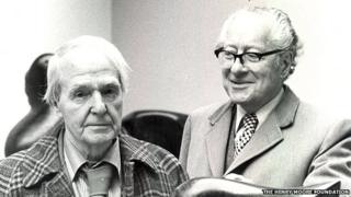 Henry Moore and Sir Robert Sainsbury