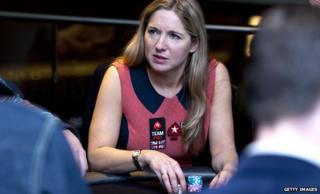 Victoria Coren Mitchell plays poker