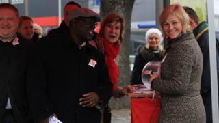 Abdul Turay campaigning in Estonia