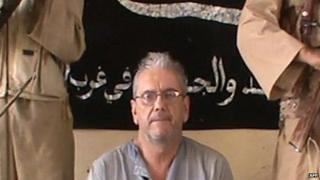 Image of Gilberto Rodrigues Leal in November 2012 released by Mauritanian news website Alakhbar and provided by Mujao.