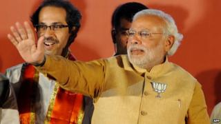 Narendra Modi is hoping to defeat the ruling Congress Party