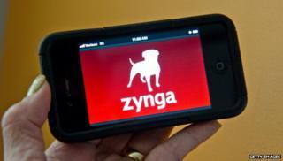 Zynga on an iPhone