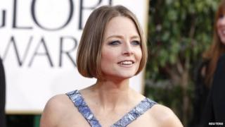 Actress Jodie Foster arrives at the 70th annual Golden Globe Awards in Beverly Hills, California 13 January 2013
