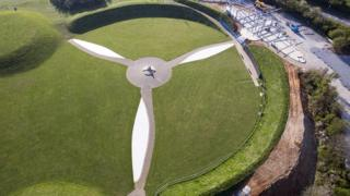 Battle of Britain memorial nears completion