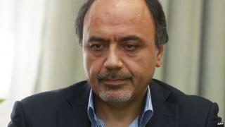 Tehran's proposed UN ambassador Hamid Aboutalebi in an undated photo