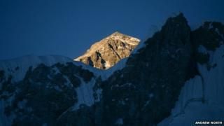 Everest summit