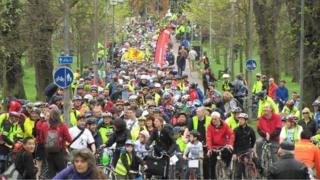 Pedal on Parliament event