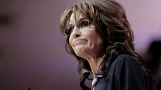 Sarah Palin speaks at the Conservative Political Action Conference in Washington, DC, on 8 March, 2014.