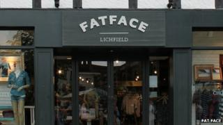 The Fat Face store in Litchfield