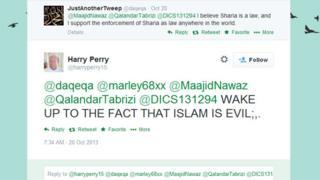 Harry Perry tweet