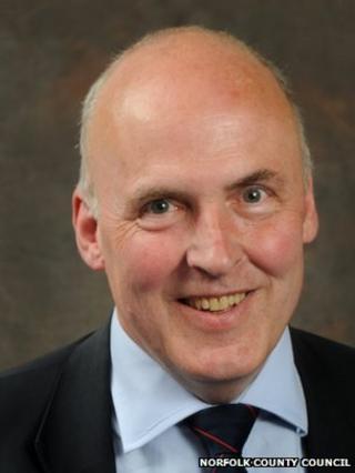 ... Tom FitzPatrick succeeds Bill Borrett as Conservative group leader