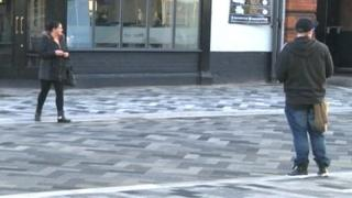 Grimsby paved area