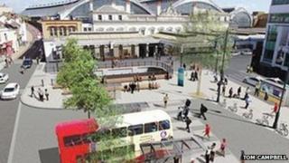 Brighton station improvements
