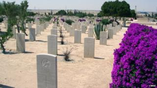 The names of hundreds of Scots, who were killed in North Africa during World War II, are etched into headstones and memorials at El Alamein cemetery in northern Egypt.
