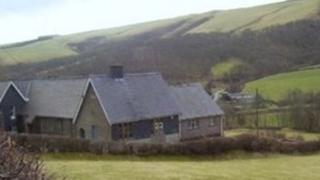 Old Hall village hall, Llanidloes