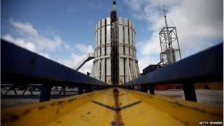 The Cuadrilla fracking plant in Preston